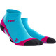 cep Low Cut Running Socks Women pink/blue